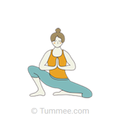 Seated Goddess Pose